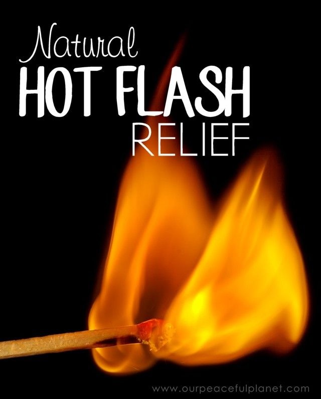 If you're a middle aged woman chances are you have or will experience the dreaded hot flash. They are pretty nasty and can make life unbearable. We've got some healthy alternatives for helping to alleviate them!