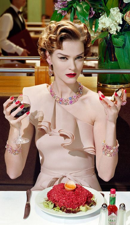 """I only want you to love me"" by Miles Aldridge"