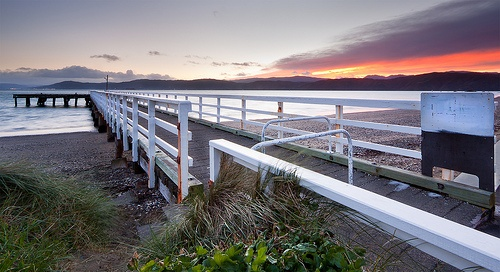 Seatoun Pier,a favourite place