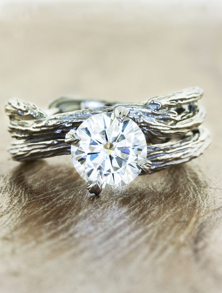best 25 rustic engagement rings ideas on