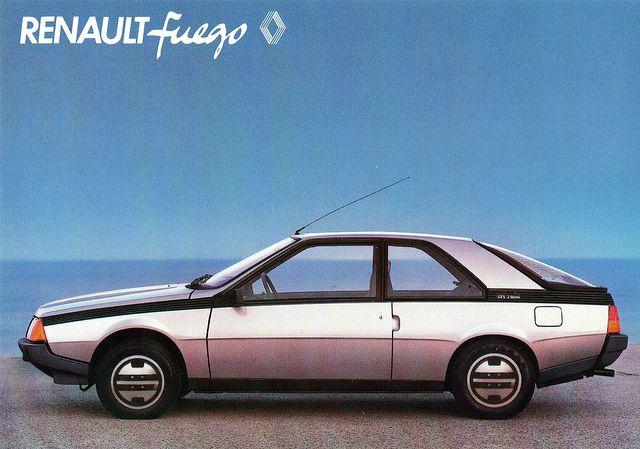 Renault Fuego, 1980-1995