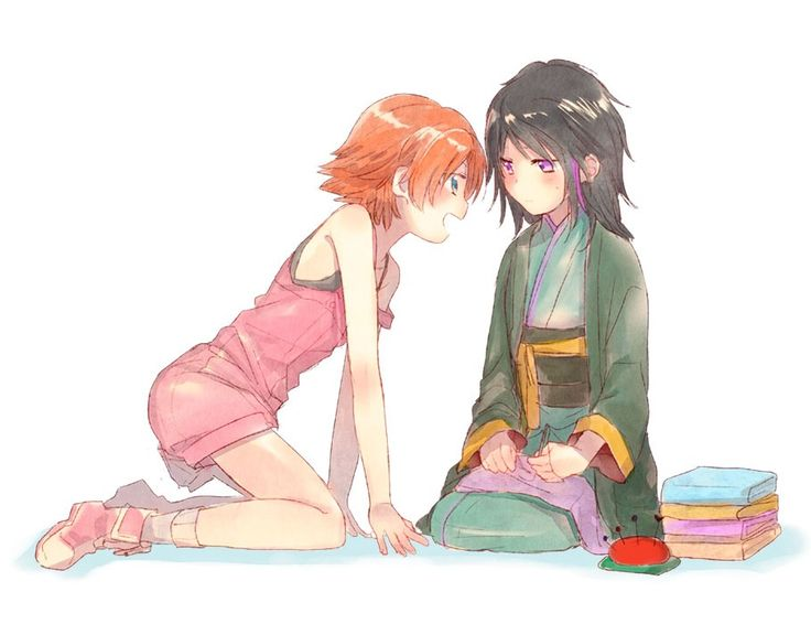 Little Ren and Nora | RWBY<== this is one of the cutest darn things I have ever seen in my life