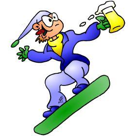 Snowboarder with a beer fc T-Shirt design. #Tshirts #illustration #design #drawing #customprint #POD #CardvibesCatalog #Cardvibes #Tekenaartje #Zazzle #Spreadshirt #Redbubble #Society6