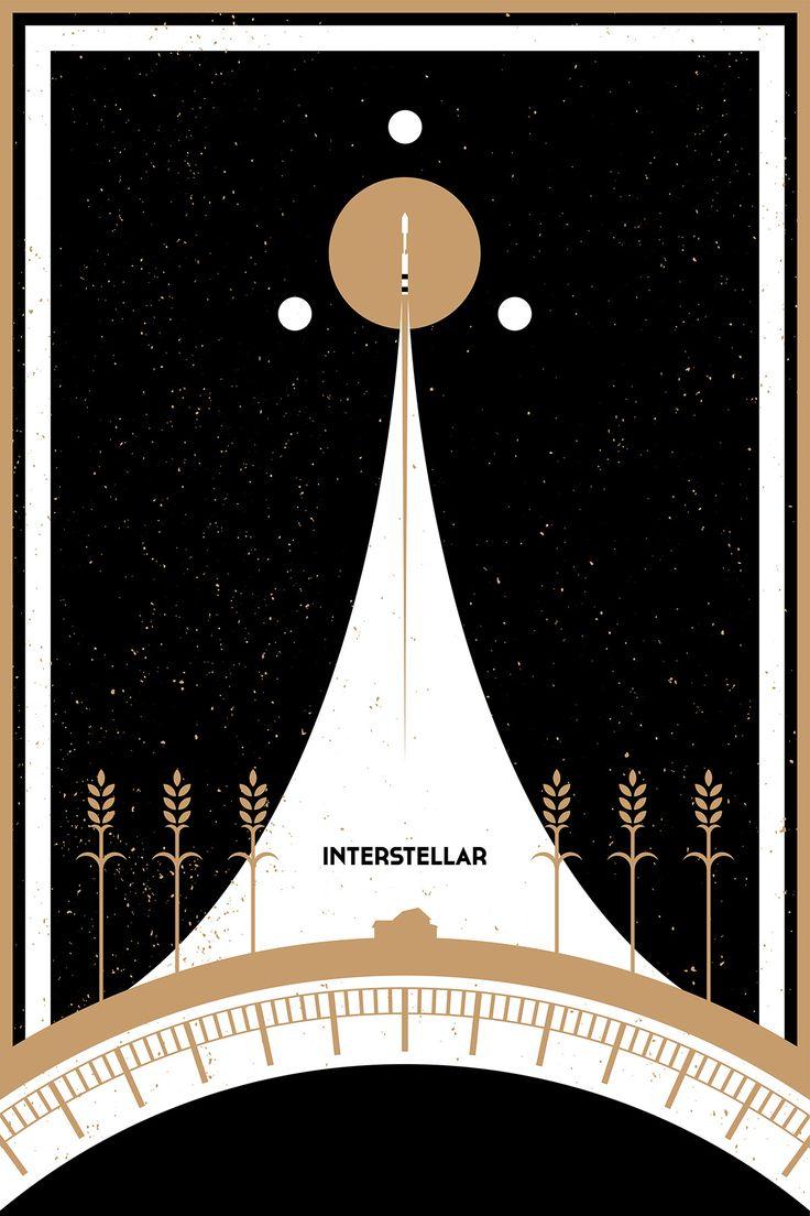 Best Interstellar Images On Pinterest Interstellar Films - Beautifully designed interstellar posters james fletcher
