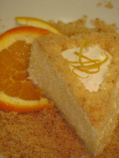 Gluténmentes túrótorta recept Zila tortaformában