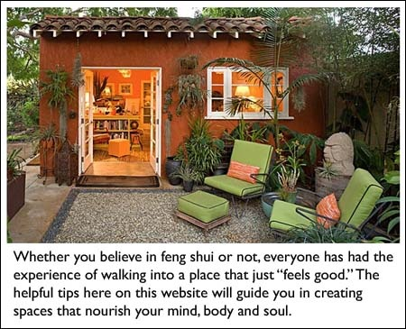 Feng shui a collection of other ideas to try coins feng shui tips and red front doors - Tips imrove garden using feng shui ...