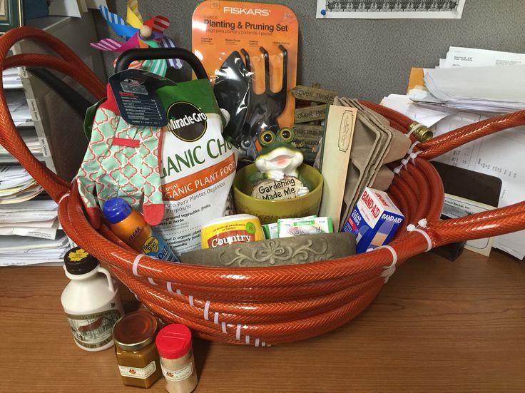 34 best gardening gift basket images on pinterest garden for Gardening tools gift basket