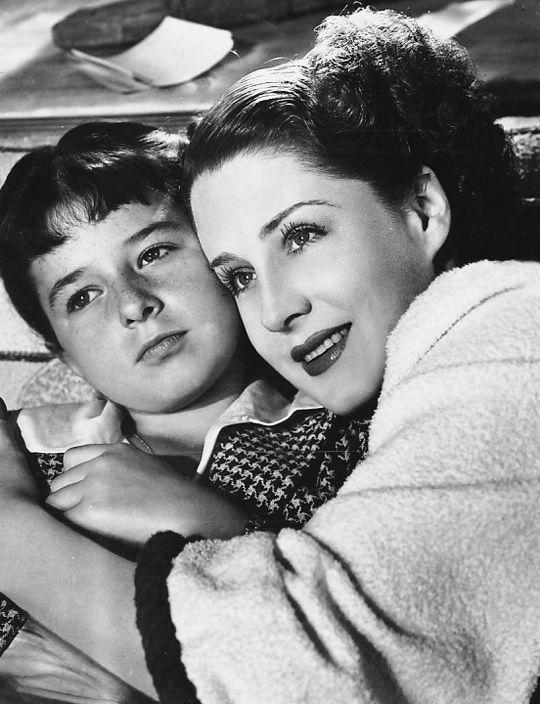 Norma Shearer & Virginia Weidler   The Women