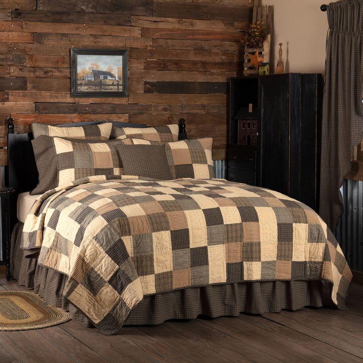 KETTLE GROVE TWIN Farmhouse Primitive Quilt Set