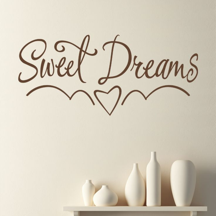 sweet dreams children s bedroom nursery wall sticker sweet dreams wall sticker art decals quotes bedroom w43 ebay