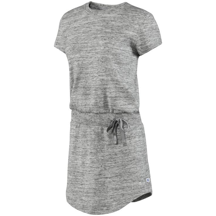 Платье FRENCH TERRY TEE DRESS, Medium Grey Heather