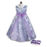 """Lavender Field ~ Party Doll Dress & Sandals, Fits 18"""" American Girl (Toy)By Carpatina LLC"""