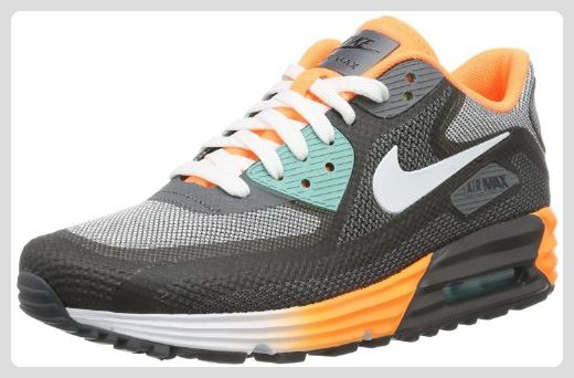 Nike Air Max 90 Comfort 3.0 631762-008 Damen niedrig Schwarz (Anthracite/White-Dark Grey-Atomic Orange) 37.5 - Sneakers für frauen (*Partner-Link)