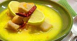 Пряный суп из рыбы