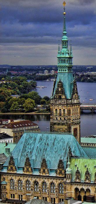 Hamburg, Germany. Sehr schön!
