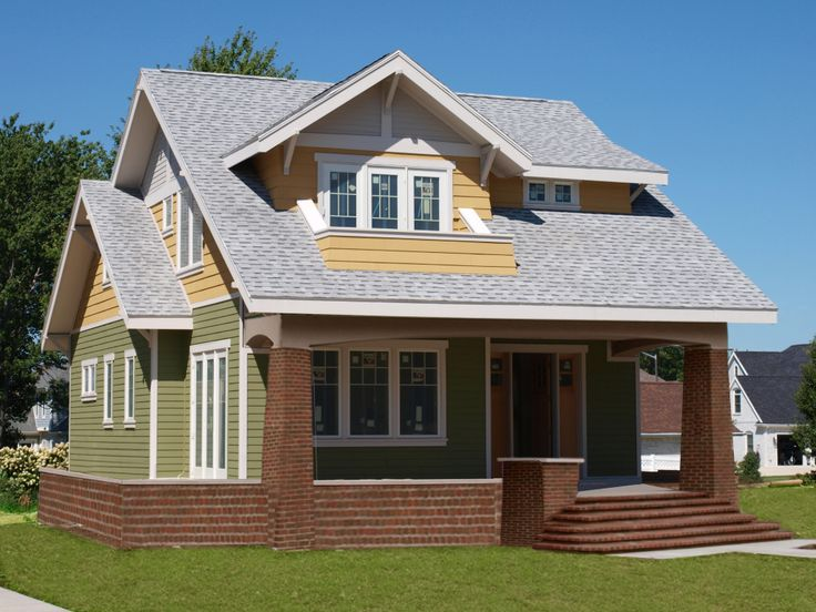 This Classically Styled Three Bedroom Bungalow Is Planned