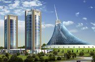 """The architectural system with which Alumil supplied the project  'Khan Shatry Residences"""" is the facade M50  For further information visit our website www.alumil.com"""