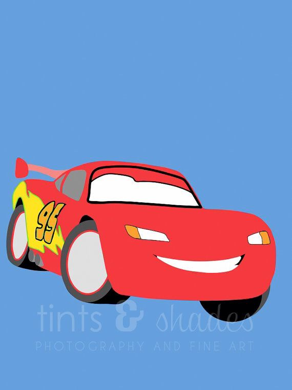 Best Cars Images On Pinterest Lightning Mcqueen Car Party - Lightning mcqueen custom vinyl decals for cardisney pixar cars a walk down cars advertising memory lane take