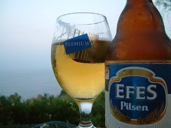 Must have EFES beer!
