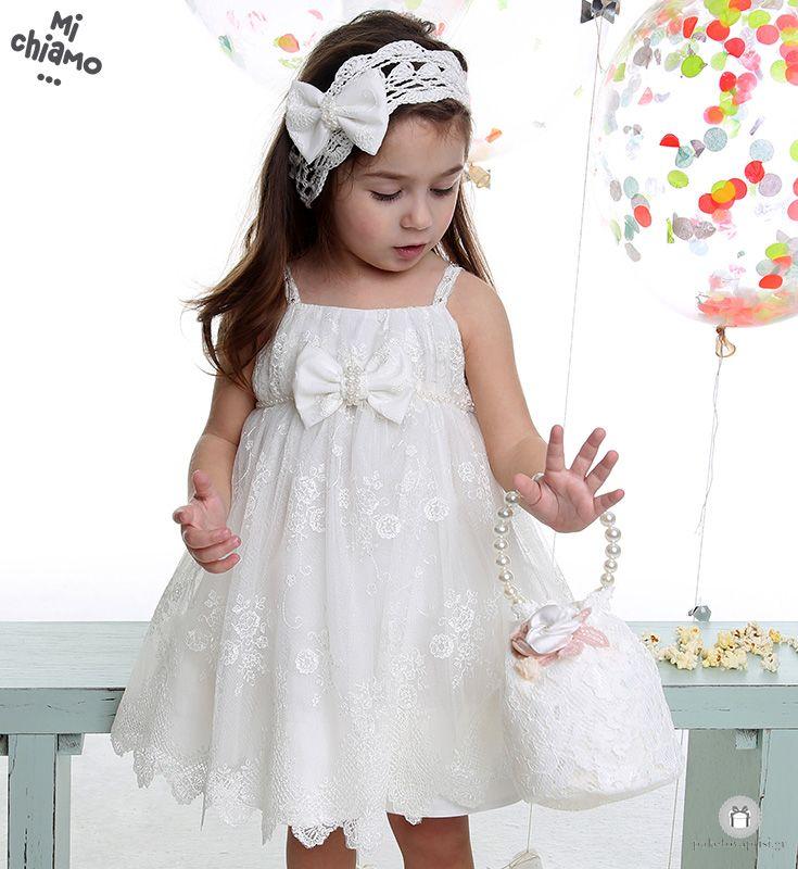Φόρεμα Βάπτισης από Δαντέλα με Φιόγκο Mi Chiamo Κ4030-16668 https://www.paketovaptisi.gr/christening-packages-girl/christening-clothes-girl/sum-spri/product/2327-16668.html Βαπτιστικό φόρεμα από τη νέα collection της εταιρείας Mi Chiamo κατασκευασμένο από δαντέλα σε ιβουάρ χρώμα με διακοσμητικό φιόγκο. Το σύνολο συνοδεύεται από καπέλο ή κορδέλα ή στέκα το οποίο συμπεριλαμβάνεται στην τιμή. Συνδυάζεται προαιρετικά με ασορτί ζακετάκι. #MiChiamo #φορεμα #βαπτιση #βαπτιστικα