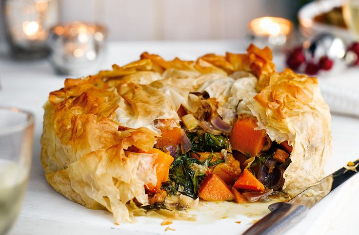Packed with so many rich, hearty flavours, this not only makes an excellent vegetarian Christmas recipe, but it can serve as an alternative Christmas main for meat-lovers as well.