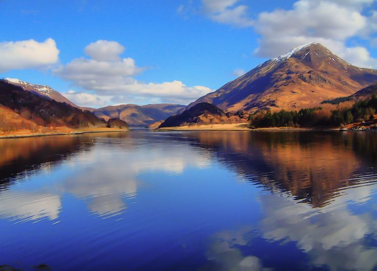 Loch Leven, near Fort William. Scotland by Pete Rose