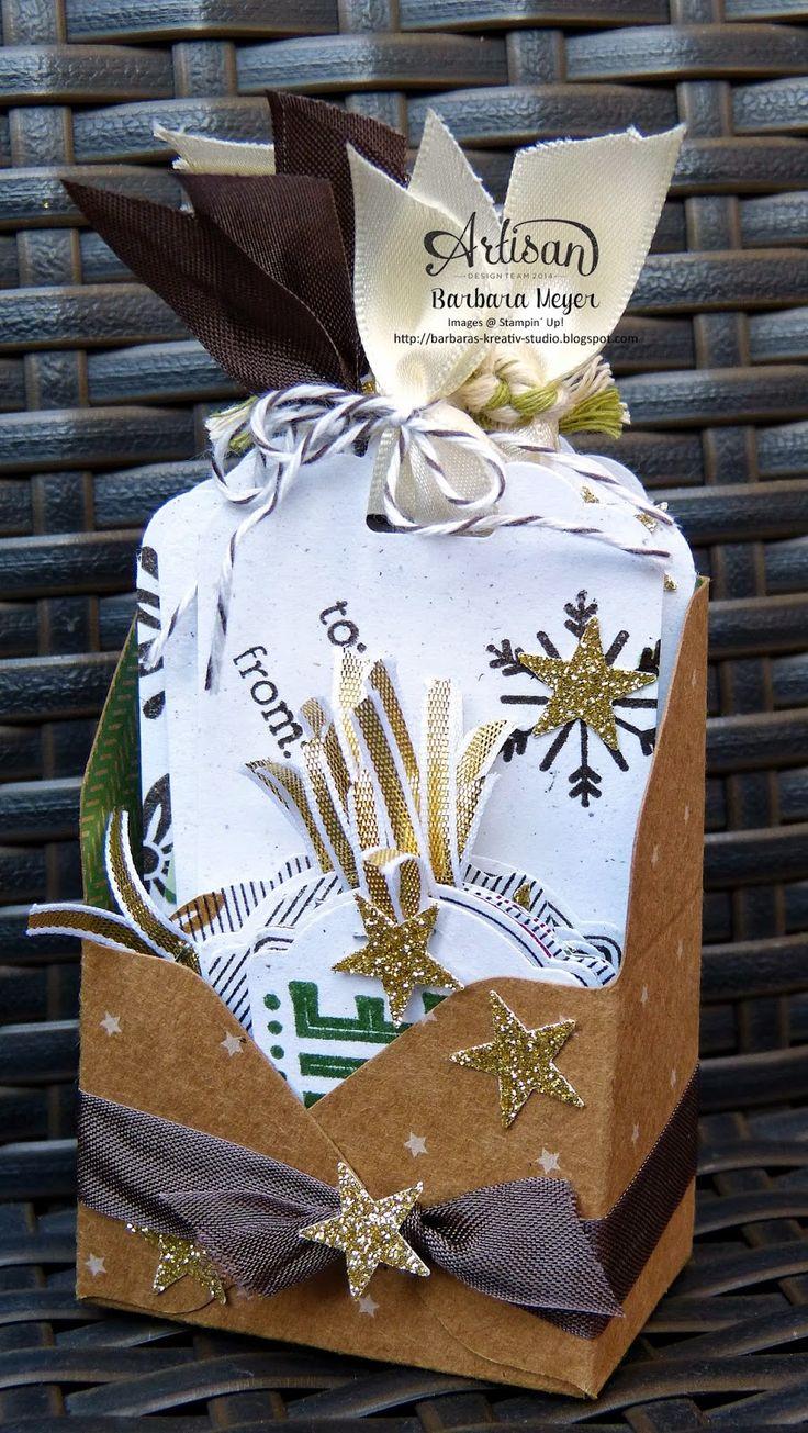 Barbaras Kreativ-Studio : Artisan Team Blog Hop - kleine Verpackungen mit de...