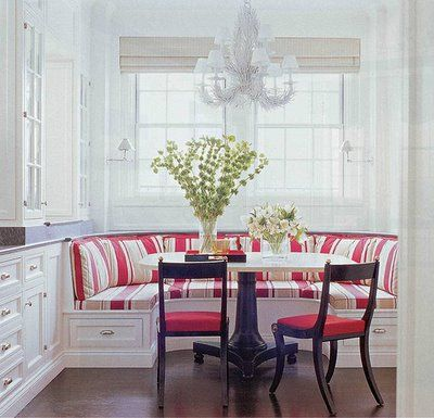 kitchen booth with storageDining Room, Kitchens Banquettes, Decor Ideas, Bench Seats, Breakfast Nooks, Kitchens Tables, Kitchens Nooks, House, Kitchens Booths