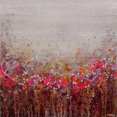 """Saatchi Art Artist Lisa Carney; Painting, """"Raindow Jam (Featured painting)"""" #art"""