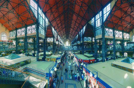 BOEDAPEST: Nagy Vásárcsarnok (1896)