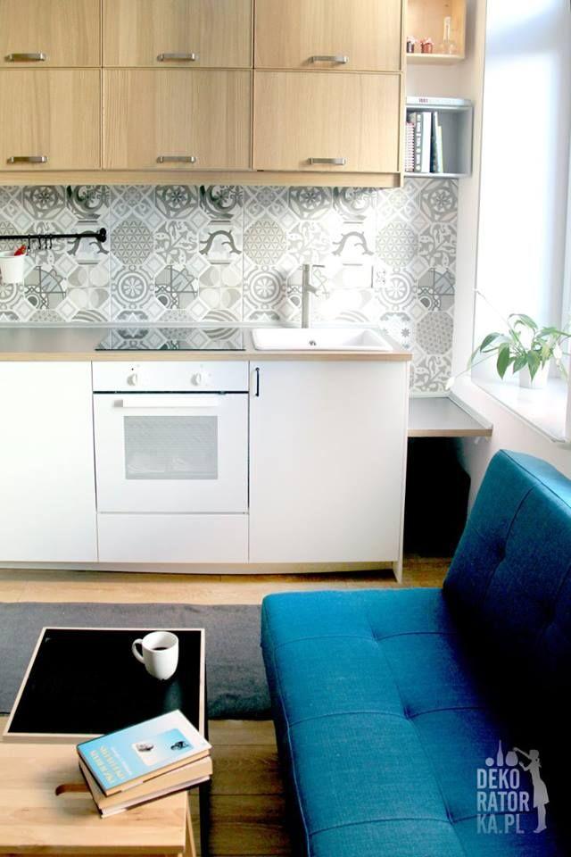 Wnętrza, Mieszkanie do wynajęcia, Poznań - Realizacja naszego projektu mieszkania do wynajęcia w Poznaniu. Mały budżet, mały metraż :)