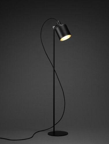 Zero Silo vloerlamp (zwart)