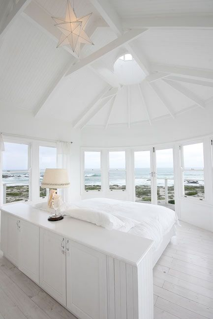 My South Africa West Coast Dream Beach House Has A Main Bedroom With  Wraparound Views.