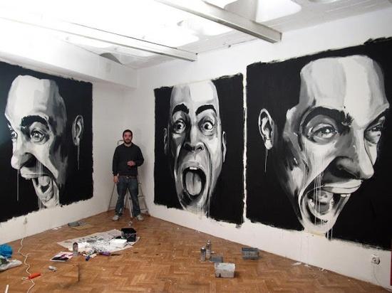 DRAW : Graffiti Canvas Art - WallArt101...
