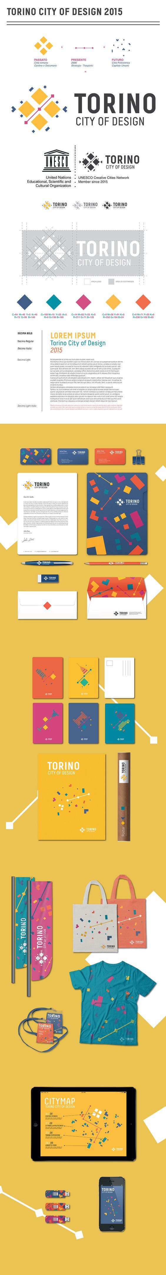 Torino City of Design 2015 Branding by Francesca Pagliaro | Fivestar Branding – Design and Branding Agency & Inspiration Gallery