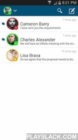 AirWatch Chat  Android App - playslack.com , AirWatch® Chat is an enterprise-grade messaging solution that allows you to securely send instant messages and photos to other users in your enterprise. AirWatch Chat combines the ease of use of instant messaging with the security requirements of enterprise environments. Messages are encrypted in-transit from your device to the recipient's device, ensuring complete security. Note: AirWatch Chat works in conjunction with and is managed through…