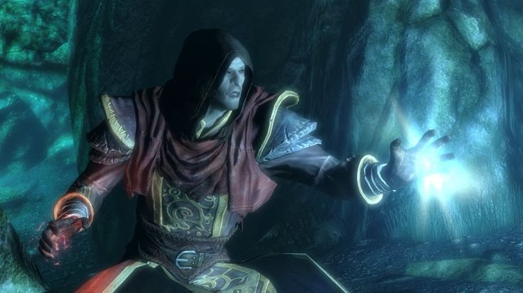 skyrim how to make a character learn a spell