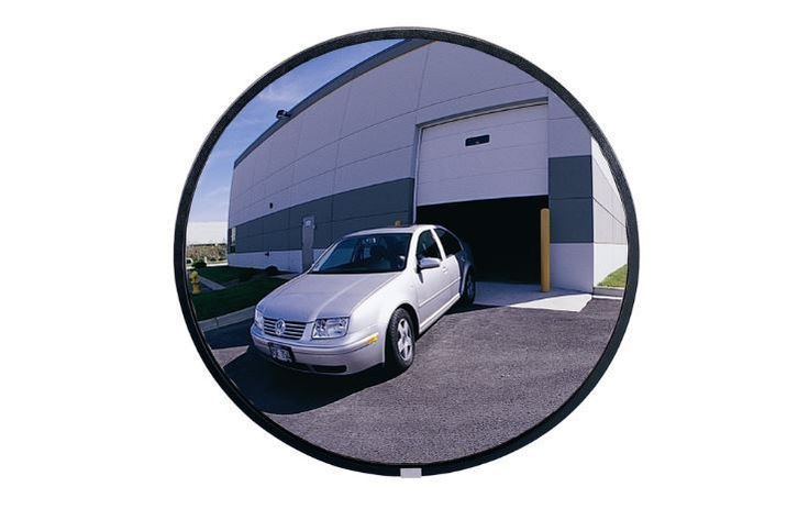 "Convex Security Mirror Outdoor Circular Glass Heavy Duty 30"" Diameter See All #SeeAll"