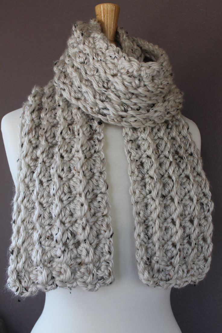 Best 25+ Crochet scarf easy ideas on Pinterest | Beginner ...