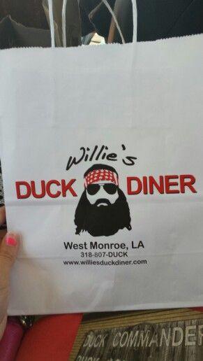 Willie's Duck Diner, Monroe Louisiana
