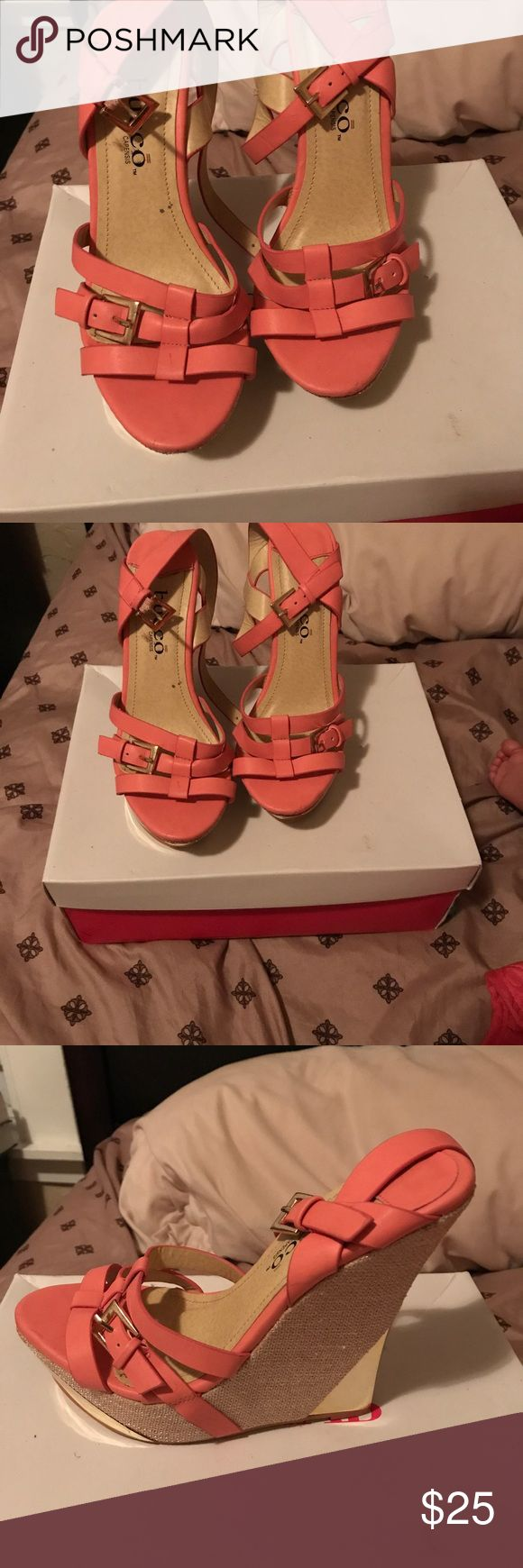 Shoes Pink wedges! Shoes Wedges