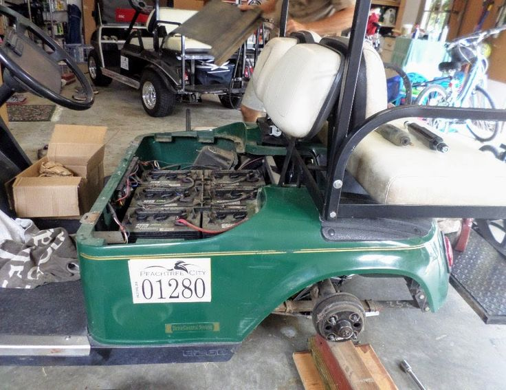 Golf cart repair FAQ and common problems.