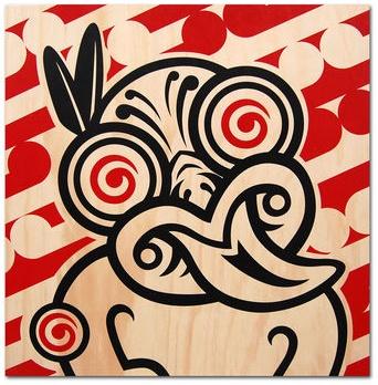 by Shane Hansen, a New Zealand artist