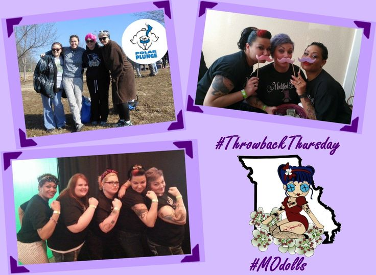 #ThrowbackThursday with our sister dolls, The Modified Dolls Missouri Chapter. If you`d like to join our MO dolls, visit their Facebook page or our website: http://www.themodifieddolls.org/be-a-doll/ :) #TBT #ModifiedDolls #MOdolls #ModifiedWomen #tattoos #BodyModification #NonProfit #SupportingCharities #TattooedWomen #MakeADifference #HelpingOthers #recruiting #VolunteersNeeded