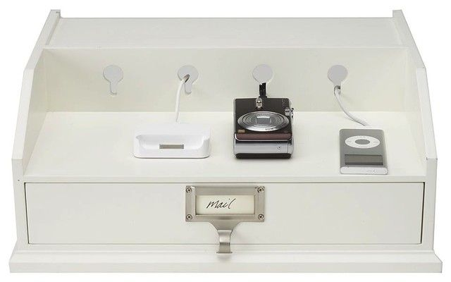 Bedford Smart Technology™ Large Recharge Station traditional cable management - Pottery Barn