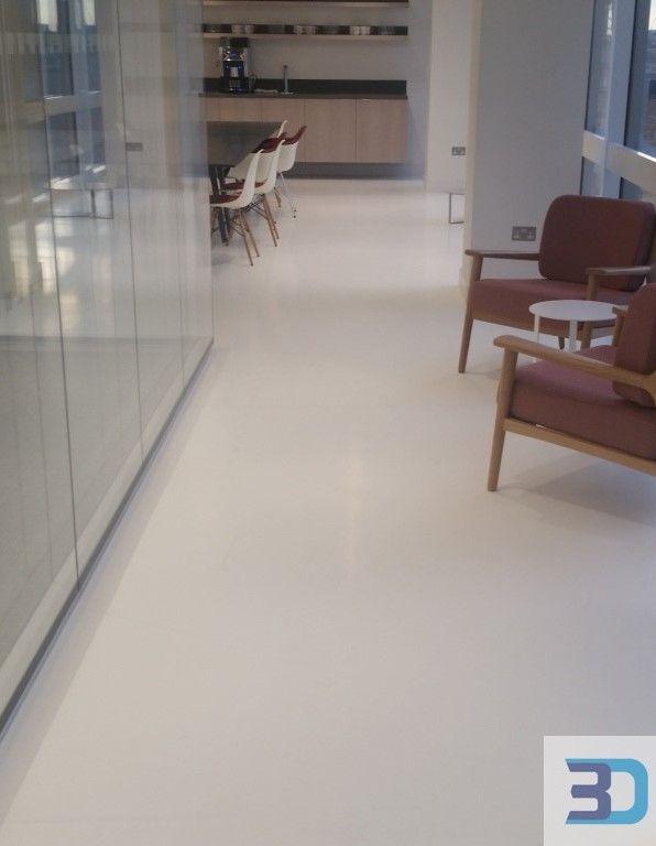 Residential Resin Floors Poured Polyurethane Epoxy Resin