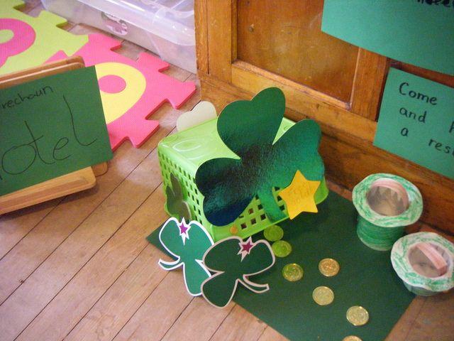 4 clovers and leprechaun traps images google