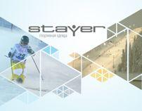 "PowerPoint presentation for sport wear ""Stayer"""