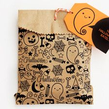 Free Halloween Printables with editable ghost tag