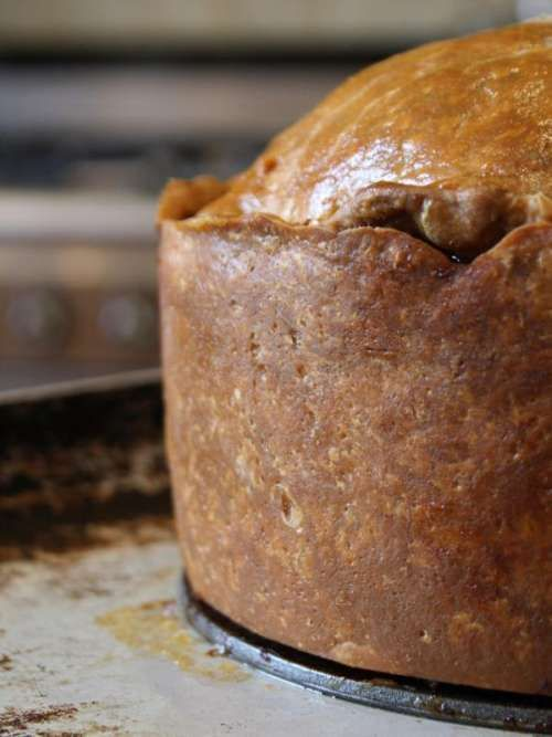 Melton Mowbray Pork Pie by Hugh Fearnley-Whitsall's River cottage meat cookbook.